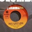 DAVID & DANNY JONES~Pick a Messa Martin~Columbia 10008 Rare M- 45