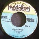 LUKIE D & SLY DUNBAR~Love Lifted Me~Davemack Music NONE VG++ Jamaica 45