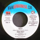 RED RAT~Why~Germain Music 7669 VG++ Jamaica 45