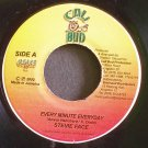STEVIE FACE~Every Minute Everyday~CaliBud NONE VG++ Jamaica 45
