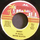 WAYNE SCOTCH~Mandy~Tourtown TT005 VG+ Jamaica 45