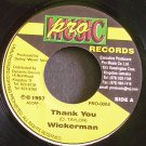 WICKERMAN & LITTLE KIRK~Thank You~Pro Music 0004 VG++ Jamaica 45