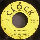 DAVE 'BABY' CORTEZ~The Happy Organ~Clock Record Co. 1009 (Rock & Roll)  45