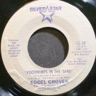 EDGEL GROVES~Footprints in the Sand~Silver Star 20 VG++ 45