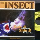 THE INSECT~Hard to Cry~360 Twist 018 (Indie Rock) VG++ 45
