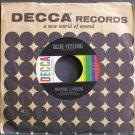 WAYNE CARSON~Blue Feeling~Decca 31621 Rare 45