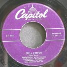 WOODY HERMAN~Early Autumn~Capitol 616 (Big Band Swing)  45