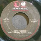 DON FELDER~Heavy Metal (Takin' A Ride)~Asylum 47175 VG+ 45