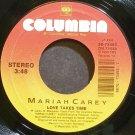 MARIAH CAREY~Love Takes Time~Columbia 73455 (Soul) VG++ 45