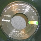 THE CHI-LITES~A Letter to Myself~Brunswick 55491 (Funk) VG++ 45