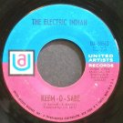 ELECTRIC INDIAN~Keem-O-Sabe~United Artists 50563 (Soul) VG+ 45