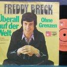 FREDDY BRECK~Uberall Auf Der Welt~BASF 11406-6 (German Schlager) VG+ Holland 45