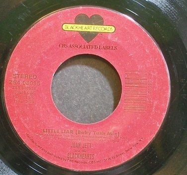 JOAN JETT & THE BLACKHEARTS~Little Liar (Baby Tush Mix)~Blackheart 08095 (Rock & Roll)  45