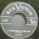 JOHN GORDY~If You Knew Susie Like I Know Susie~RCA Victor 5688 (Ragtime)  45