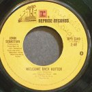 JOHN SEBASTIAN~Welcome Back Kotter~Reprise 1349 (OST)  45