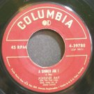 JOHNNIE RAY~A Sinner am I~Columbia 39788 VG+ 45