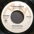 NAZARETH~Love Hurts~A&M 1671-S (Classic Rock) VG+ 45