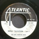SLIDE HAMPTON OCTET~Sister Salvation~Atlantic 5007 (Bop, Hard bop) Promo 45