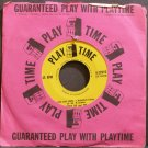 TEDDY LEE~Alice Blue Gown~Play Time 22010 (Funk) VG++ 45 EP