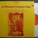 VARIOUS~A Treasury of Gregorian Chants~Everest 3159/4 (Gospel) 1st SD M- 4LP Box Set