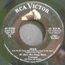AL HIRT~Java~RCA Victor 8280 (Dixieland/New Orleans Jazz) VG+ 45