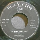 BARRY MCGUIRE~You Were on My Mind~RCA Victor 1474 (Punk) Italy 45