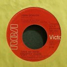 JOHN DENVER~Take Me Home, Country Roads (Re)~RCA Victor 0904 VG+ 45