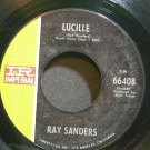 RAY SANDERS~Lucille~IMPERIAL 66408 Rare VG+ 45