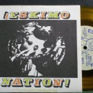"ESKIMO NATION~Immunization2Everything~Underdog 301 (Punk) Clear Yellow M- 7"" 33  EP"