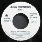 HAROLD FALTERMEYER~Axel F~MCA 52536 (Synth-Pop) Promo VG++ 45