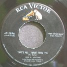 JAYE P. MORGAN~That's All I Want From You~RCA Victor 5896  45