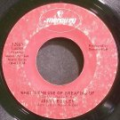 JERRY BUTLER~What's the Use of Breaking Up~Mercury 72960 (Soul)  45