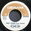 THE MOODY BLUES~Tuesday Afternoon~DERAM 45-DEM-85028  45