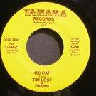 TIM LOST~400 Bar~Yahara 0290 (Indie Rock) M- 45