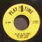AL CONTE QUARTET~On Top of Old Smoky~Play Time 22005 (General Jazz)  45