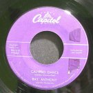 RAY ANTHONY~Calypso Dance~Capitol F3646 (Jazz Vocals)  45