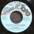 EL GALLO~Alla En El Rancho Grande~Discos Del Topo 1001 M- 45