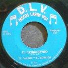EL PALOMO Y EL GORRION~El Pavido Navido~D.L.V. 5068 VG++ 45
