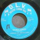 LORENZO DE MONTECLARO~Maldita Suerte~D.L.V. 5069 VG+ 45