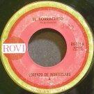 LORENZO DE MONTECLARO~El Borrachito~Rovi 124  45