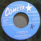 LOS DOS NAVEGANTES~Ya Fuiste Mia~Cometa 168  45