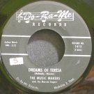 THE MUSIC MAKERS~Dreams of Teresa~Do-Ra-Me 1415 (Rockabilly) VG+ HEAR 45