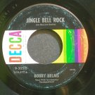 BOBBY HELMS~Jingle Bell Rock~Decca 30513 (Christmas) VG+ 45