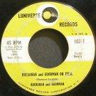 BUCHANAN & GOODMAN~Buchanan and Goodman on Trial~Luniverse 102  45