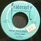 CATHY CARR~Ivory Tower~Fraternity 734 (Early R&B)  45