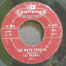 THE CHAMPS~Too Much Tequila~Challenge 59063 (Instrumental Rock)  45