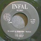 CLEM GARCIA~Ya Llego La Primavera~Infal V VG++ HEAR 45