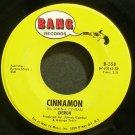 DEREK~Cinnamon~Bang 558 (Classic Rock) VG++ 45