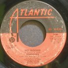 FOREIGNER~Hot Blooded~Atlantic 3488 (Arena Rock)  45