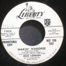 JULIE LONDON~Makin' Whoopee~Liberty 55216 (Jazz Vocals) Promo VG+ 45